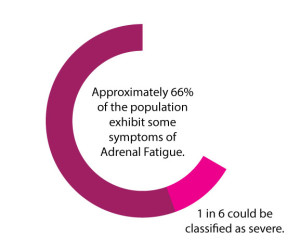 Adrenal Fatigue Pie Chart with Facts